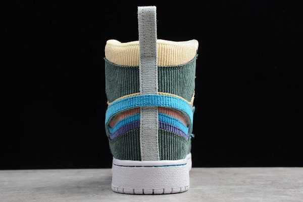 Sean Wotherspoon x Air Jordan 1 High Retro OG Beige Yellow White Sale
