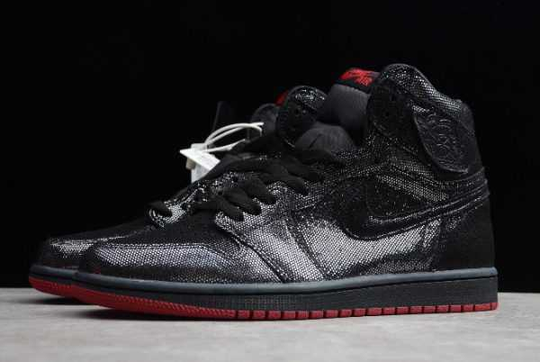 Air Jordan 1 Retro High OG Black/Gym Red Men' s Basketball Shoes