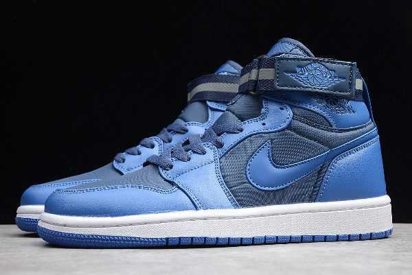 Air Jordan 1 Retro High Strap French Blue/University Blue-White 342132-407