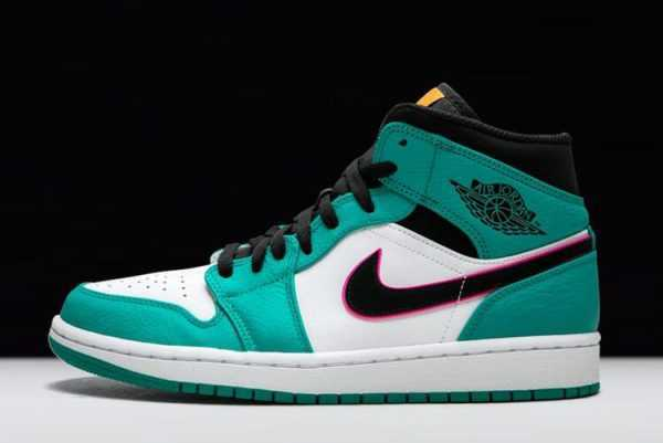 Air Jordan 1 Mid SE ' outh Beach' Turbo Green 852542-306
