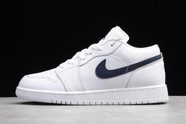 Air Jordan 1 Low White Obsidian Shoes New Sale