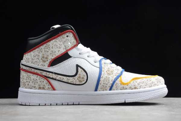 BQ6827-100 Mens Air Jordan 1 Mid