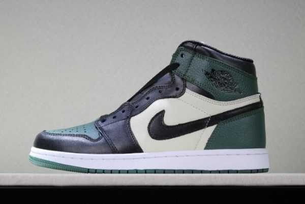 2018 New Air Jordan 1 Retro High OG Pine Green/Sail-Black To Buy
