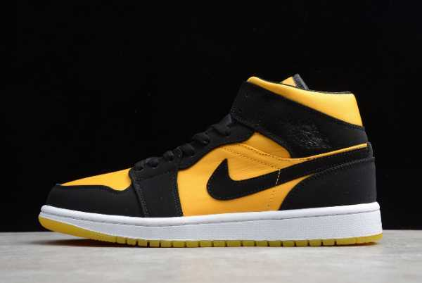"2020 New Air Jordan 1 Mid ""Black Gold"" CD6759-007 For Sale"