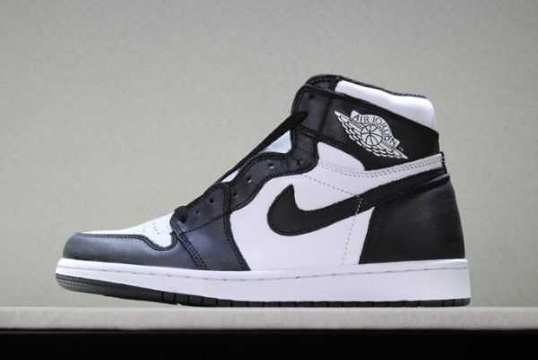 Newest Air Jordan 1 Retro High OG Black/White Mens Sneakers