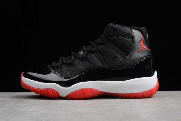 "Air Jordan 11 Retro ""Bred"" Black/Varsity Red-White 378037-010"