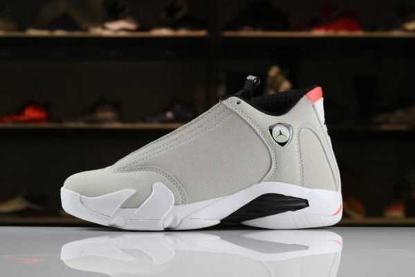 2018 Air Jordan 14 Retro Desert Sand/Black-White-Infrared 23 Men' s Size 487471-021
