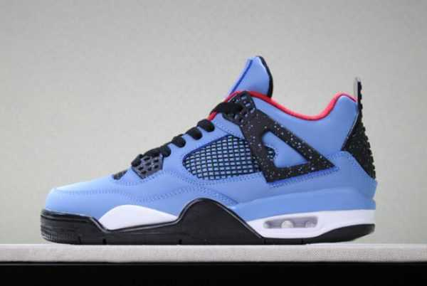 Travis Scott x Air Jordan 4 Houston Oilers 308497-406 For Sale