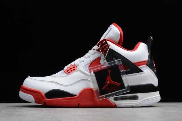 2018 Mens NIKEiD Air Jordan 4 Retro ' ire Red' 836011-107