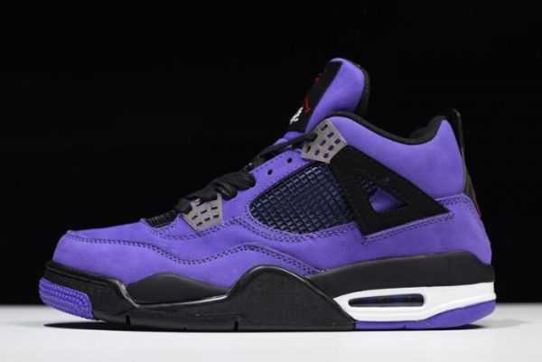Men' s Travis Scott x Air Jordan 4 Purple 308497-510