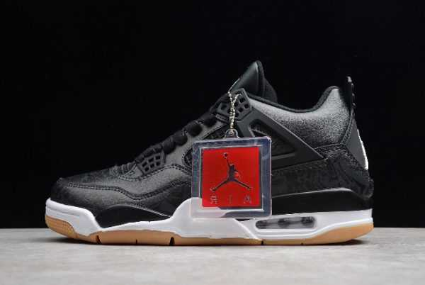 Air Jordan 4 Retro Laser Black Gum For Sale CI1184-001