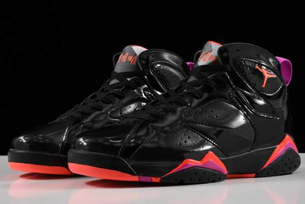 2020 Newest 313358-006 Air Jordan 7 Patent Leather For Sale